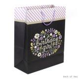 Geburtstag-Geschenk-Beutel, Kunstdruckpapier-Geschenk-Beutel, Packpapier-Geschenk-Beutel, kaufender Papierbeutel