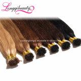 Da venda por atacado real do cabelo humano de Remy do Virgin de 100% a vara Pre-Ligada Eu-Derruba