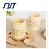 Tazza di bambù bevente naturale a buon mercato 100% dell'artigianato all'ingrosso