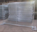 6FT*10FT 미국 표준 체인 연결 임시 검술하거나 임시 방호벽