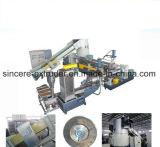 Linha de produção máquina do granulador das etapas da película dois do PE dos PP