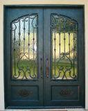 Portello di entrata moderno della parte anteriore del ferro di stile di disegno di Comtemporary