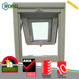 UPVC/PVC dreifache Hurrikan-Auswirkung-Glasschwingen-Markise Windows