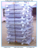 Opvouwbare metalen gaas Pallet Kooi voor Pakhuis Opslag
