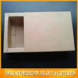 서랍 Kraft 또는 백지 상자 활주 열려있는 상자