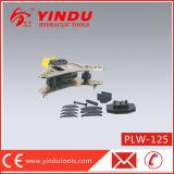 두 배는 대와 편평한 금속 격판덮개 벤더 (PLW-125) 작용한다 유압