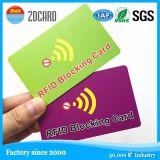 Carte de visite professionnelle de visite sans contact des cartes à puce NFC d'IDENTIFICATION RF