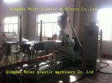 Línea gemela paralela de la granulación del tornillo de WPC