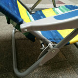 Tube de métal populaire à l'extérieur Home Garden Furniture Foldable Beach Chair