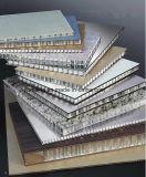 Façades en aluminium en aluminium imperméables à l'eau de mur de panneaux de revêtement de mur extérieur de Decrative de nid d'abeilles