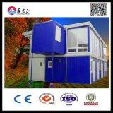 Casa modular padrão do recipiente para o armazenamento/oficina/acampamento/hotel