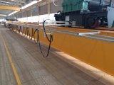 Difundido Overhead doble viga de la grúa con maquinaria de elevación del polipasto eléctrico