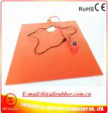3Dプリンター適用範囲が広いシリコーンゴムのヒーターのための900*900*1.5mmの熱くするベッド