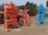 Lehm Block Machine Price Soil Interlocking Brick Machinery für Russland (SY1-10)