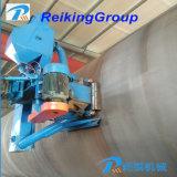 Alto tubo di Effiency e tubo interni e macchina d'acciaio di granigliatura della superficie di Extenernal