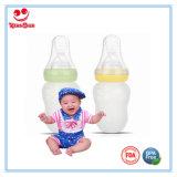 Frasco de bebê largo do aperto da garganta para bebês com colher