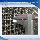 Sterk Op zwaar werk berekend Messing 304 van de Structuur Netwerk van de Draad van Roestvrij staal 316 het Weefsel Geplooide voor Verkoop