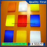 Cast/Plexiglass colorés Acrylic Sheet pour Light Boxes
