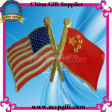 Pin флага металла для подарка значка (M-MB52)
