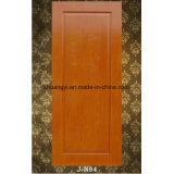 Porte en bois de mélamine, porte intérieure de porte de PVC