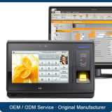 7 Inch TFT Screen Support USB Flash Drive Download를 가진 패스워드 ID Card Fingerprint Biometric Time Clock System
