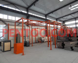 Vertikales Powder Coating Line für Aluminium Profile Coating