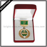 昇進のギフト(BYH-10391)のための品質の金属メダルバッジ