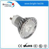 Base de la Iluminación MR16/Gu10W/E27 del Punto de 3*1W 3W LED