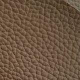 Certificazione Z008 dell'oro dello SGS che succhia il cuoio del PVC del cuoio sintetico del PVC del rilievo dell'ammortizzatore di sede dell'automobile del reticolo del litchi