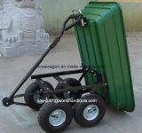 Carro da descarga do jardim do carro da ferramenta de jardim