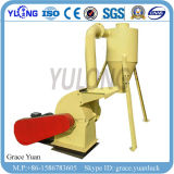 Pequeña máquina de la trituradora del tallo del maíz de los pedazos de madera