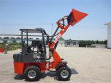 Everun Er06 세륨 Certifiziert 농업 농장 Maschine 소형 바퀴 로더 Radlader Mit Palletengabel
