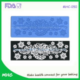 2015 nuovo Design Butterfly Notes Fondant Cake 3D Siliocne Lace Mold