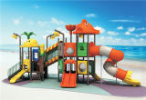 Conjunto de jogo ao ar livre para crianças com deficiência
