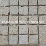 テラス、庭、LandscapingのためのデザインBasalt Cube/Cobble Paving Stone