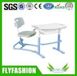 Solo escritorio de los muebles compactos ajustables de la sala de clase fijado (SF-18S)