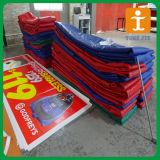 Bandera al aire libre, bandera del PVC, bandera del vinilo para hacer publicidad (TJ-002)