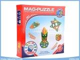 brinquedos magnéticos da sabedoria DIY do enigma dos brinquedos de 20PCS 3D para brinquedos educacionais dos miúdos