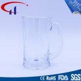 copo de vidro da cerveja do Sell 380ml popular com mão (CHM8347)