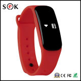 Pulsera elegante de Bluetooth 4.0 del ritmo cardíaco del oxígeno de la sangre del Sek