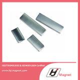 Magneti permanenti di NdFeB del motore di segmento di l$tipo C dell'arco di potere eccellente N38