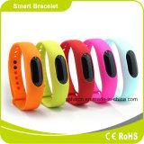 Podómetro impermeable Medición de distancia inteligente pulsera quema de calorías Reloj Bluetooth fitness