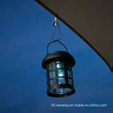 Lámpara colgante al aire libre accionada solar del patio de la yarda de los PP