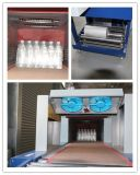 Machine en plastique d'emballage en papier rétrécissable de bouteille d'animal familier de rétrécissement