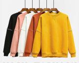 중국 제조자 너무 크은 여자 노란 스웨터 Hoodie