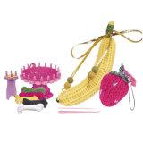 Jouet de tissage de travail manuel de filé de Knit de fruit du cadeau DIY de fille