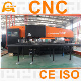 Prensa de sacador de la torreta del CNC, máquina hidráulica de la prensa de sacador de la torreta del CNC