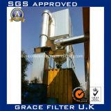 Промышленный сборник пыли фильтра цедильного мешка циклончика фильтра