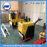 Rouleau roulant à rouleau simple vibratoire hydraulique hydraulique (HW-600)