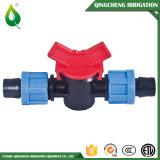 Type neuf mini soupape de l'eau en plastique d'irrigation par égouttement